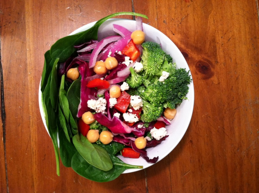 Fresh Vegetable Salad with Lime and White Balsamic - Dr ...